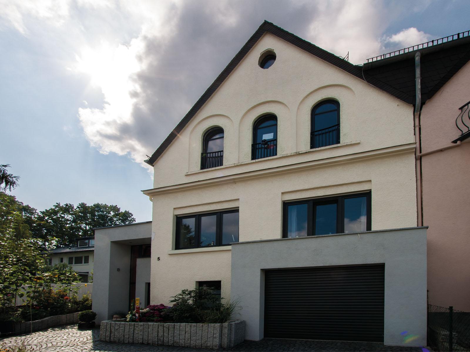 Projekt erweiterung einfamilienhaus bai planung for Planung einfamilienhaus